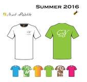 Собрание рубашки печати Стоковая Фотография RF