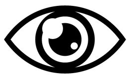 глаз Стоковые Изображения