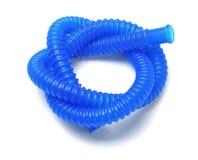 蓝色塑料管材 图库摄影