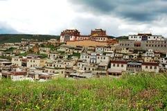 喇嘛寺院 免版税库存图片