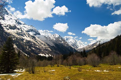 абстрактная гора предпосылки Стоковое фото RF