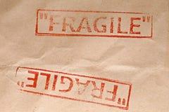 易碎的邮票 免版税图库摄影