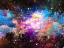 Дизайн межзвёздного облака Стоковое фото RF