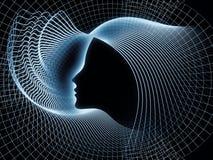 Развёртка геометрии души Стоковые Изображения RF