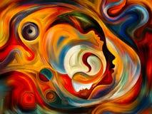 Синергии внутренней краски Стоковые Изображения