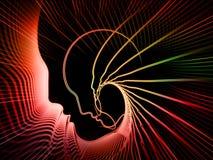 Путь геометрии души Стоковые Изображения RF