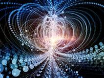 Парадигма частицы волны Стоковое Изображение RF