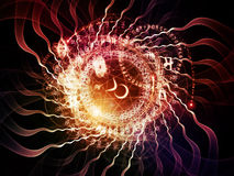 Священный взрыв геометрии Стоковое Фото