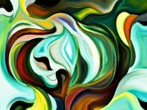 Схематические формы Стоковое Изображение