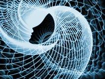 Визуализирование души и разума Стоковая Фотография RF