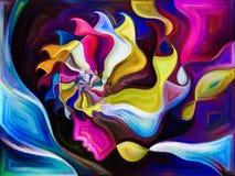 Цветок разделения космоса Стоковое Изображение RF