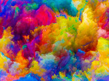 Визуализирование цветов Стоковое фото RF