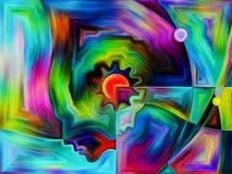 Красочное восприятие Стоковые Изображения