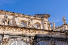 圣母玛丽亚大教堂的杜布罗夫尼克做法 免版税图库摄影