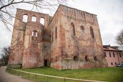 林堡省城堡废墟 免版税图库摄影