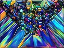 цветастая картина Стоковое Фото
