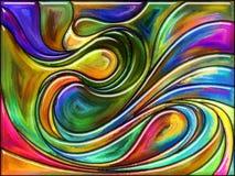 Виртуальный цвет Стоковое Изображение