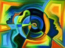 Выдвижение восприятия Стоковые Изображения