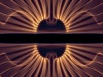 Затейливые измерительные линии Стоковые Фото