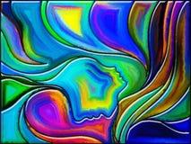 Парадигма стекла Стоковое Изображение