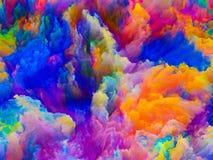 Источник цветов Стоковые Изображения RF