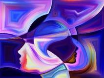 Синергии восприятия Стоковые Изображения