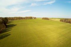 春天在拉脱维亚乡下 免版税图库摄影