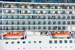 Πίνακας του κρουαζιερόπλοιου πολυτέλειας Στοκ Φωτογραφία