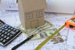 Ключи к новому дому Стоковые Изображения