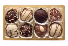 巧克力圣诞节 免版税库存照片