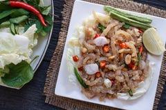 叫的泰国开胃菜食物 免版税库存图片