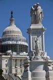 和平纪念碑在华盛顿特区, 免版税库存照片