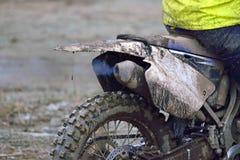 运转的围巾摩托车 图库摄影