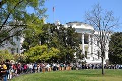 白宫在华盛顿特区, 免版税库存照片