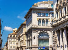 Κτήρια στο κέντρο της πόλης της Ρώμης Στοκ φωτογραφία με δικαίωμα ελεύθερης χρήσης