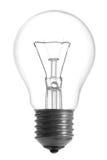 电灯泡闪亮指示 免版税图库摄影