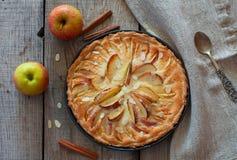 κέικ μήλων σπιτικό Στοκ Εικόνες