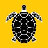 乌龟象,标志 免版税库存图片