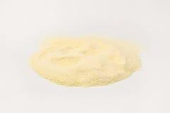 硬质小麦粗面粉面粉 库存图片