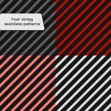 Σύνολο απλού αναδρομικού γεωμετρικού ριγωτού σχεδίου ρηχός μαλακός πεδίων βάθους βελών χρωμάτων Στοκ Εικόνες