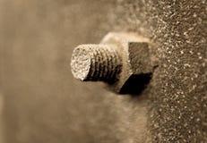 Σκουριασμένο μπουλόνι Στοκ Εικόνα