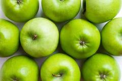 Зеленые яблоки Стоковое фото RF