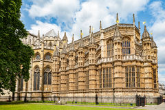修道院威斯敏斯特 伦敦,英国 免版税图库摄影
