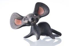 小雕象鼠标 免版税图库摄影