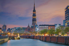 Γερμανία Αμβούργο Στοκ Φωτογραφία