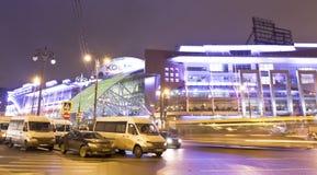 莫斯科,贸易的中心 图库摄影