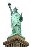 查出的自由雕象 免版税图库摄影