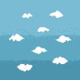 天空映象点艺术 免版税库存照片