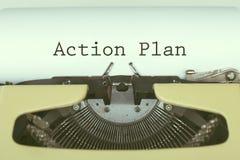 Επιχειρησιακή έννοια σχεδίων δράσης Στοκ εικόνες με δικαίωμα ελεύθερης χρήσης