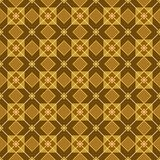 木条地板、正方形和菱形的图,五颜六色,无缝 图库摄影